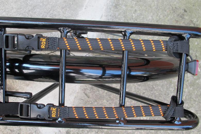 ROK Pack Strap black/neonorange