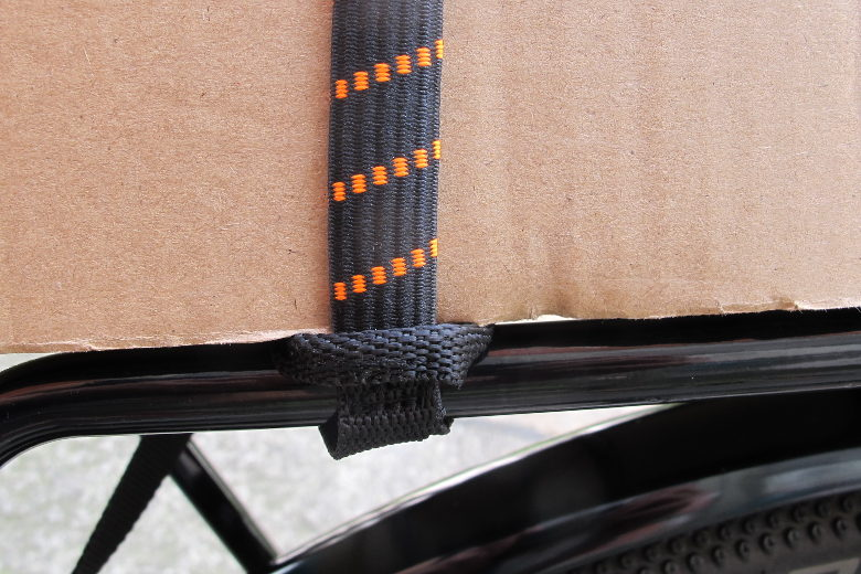 ROK Pack Strap black/neonorange