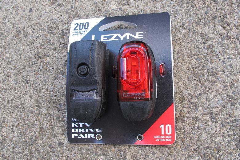 LEZYNE LED KTV Drive Pair Black