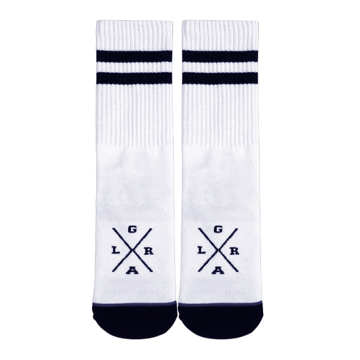Loose Riders Socks White