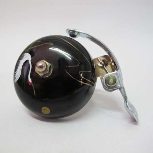 Crane Handpainted Suzu Bell Tsuru