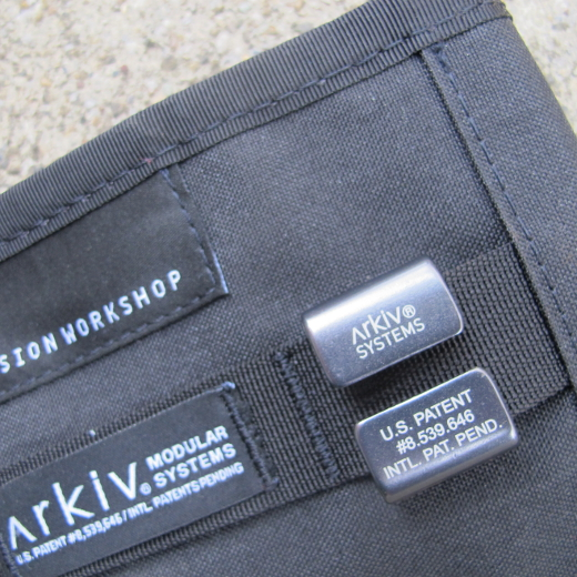 Mission Workshop Arkiv® Four-Piece Clip Set