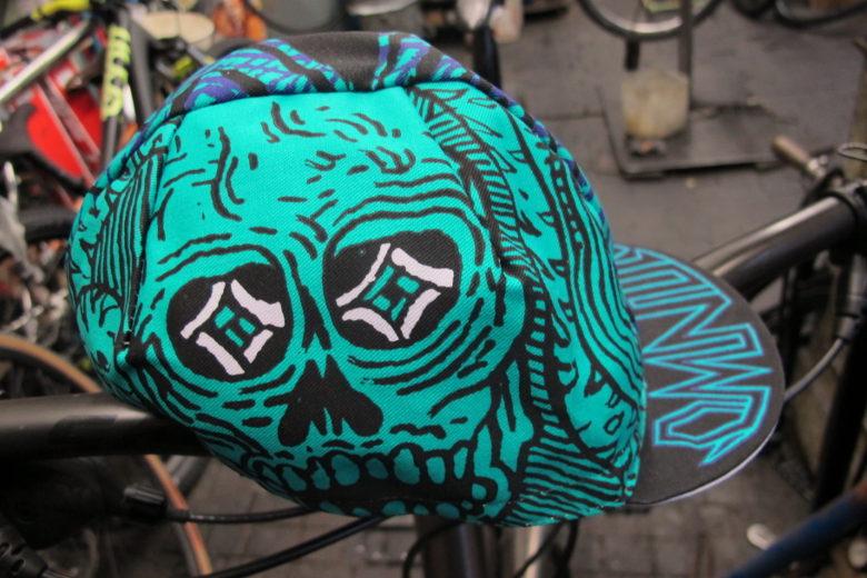 Omnium 'Speed Metal' Cycling Cap