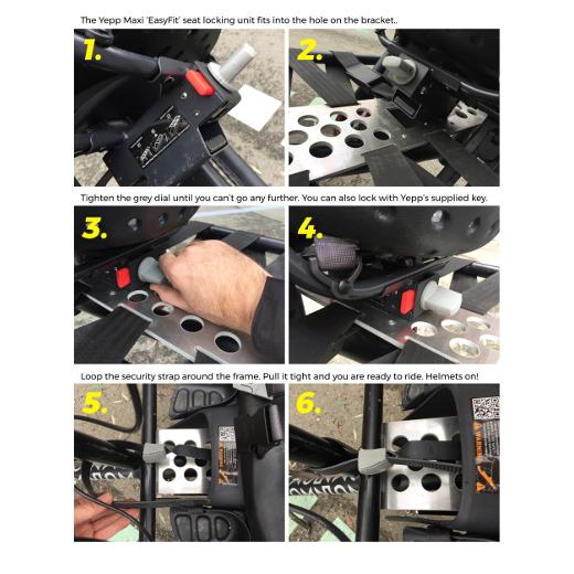 Omnium Thule Yepp Maxi Child Seat Bracket