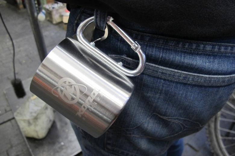 KONA Carabiner Steel Mug