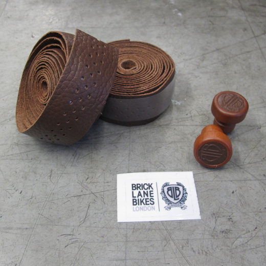 BLB Leather Bar Tape dark brown