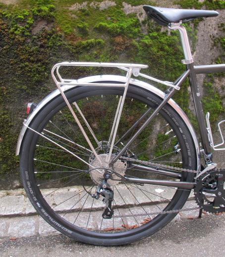 Pelago Commuter Rear Rack polish