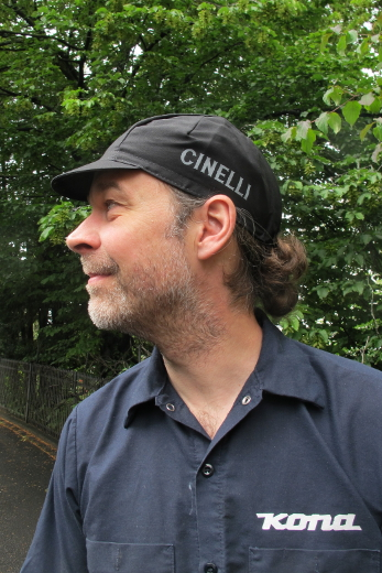 CINELLI Crest black Cycling Cap