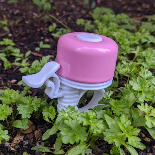 Glocke Ping pink