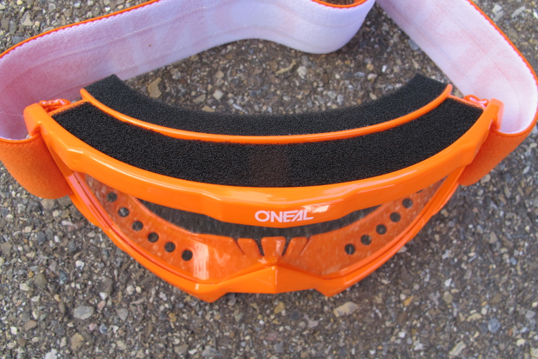 O'Neal B-10 Youth Goggle SOLID orange/white