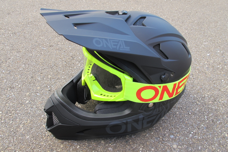 O'Neal B-10 Youth Goggle SOLID neon yellow/red