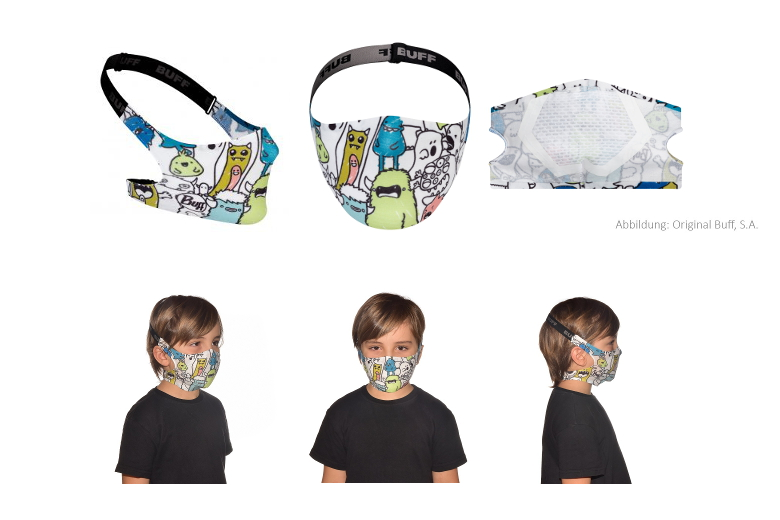 BUFF® Filter Mask Kids Boo Multi