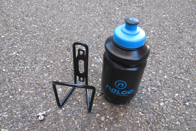 Naloo Bottle & Cage 350ml