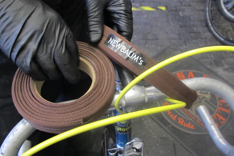 Newbaum's Cushioned Bar Tape darkbrown