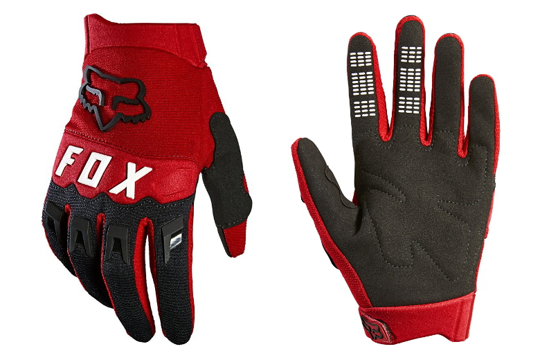 FOX Dirtpaw Youth Flame Red