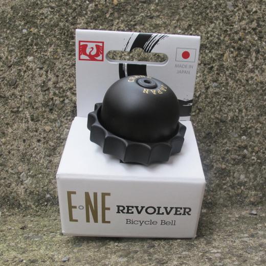 Crane – E•NE Revolver Bicycle Bell All Black