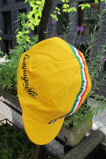 Campagnolo Cycling Cap Yellow ITA