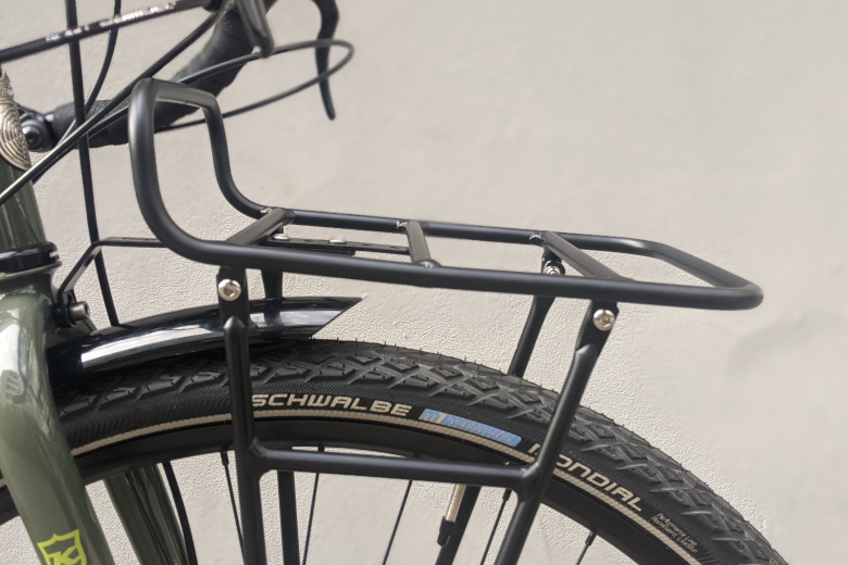 Pelago – Commuter Front Rack Small- Aluminium matte black