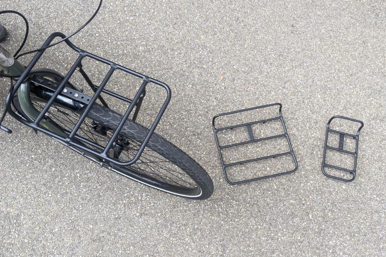 Pelago – Commuter Front Rack Medium – Aluminium matte black
