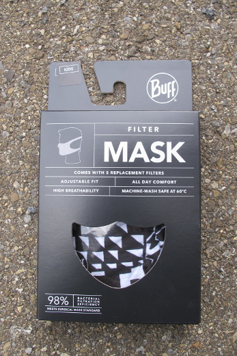 BUFF® Filter Mask Kids Bawe Black